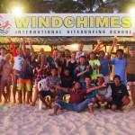 Vietnam Mui Ne kiteboard family