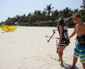IKO VDWS kiteboardingschool