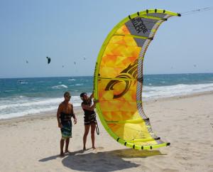 Windchimes cabrinha kitesurf lessons