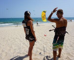 Kiteboarding lessons vietnam